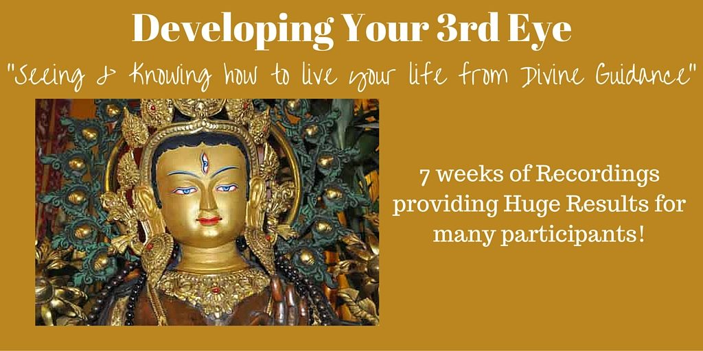 Developing Your 3rd Eye - Recordings