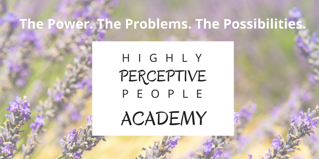 Highly Perceptive People Academy