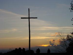 Cross at the basilica where St. Francis received his stigmata.